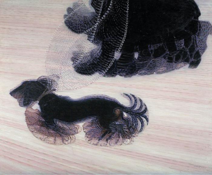 Giacomo Balla | Dinamismo di un cane al guinzaglio