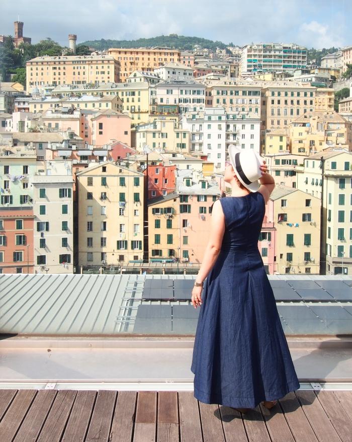 Terrazza panoramica | museo del Mare Genova