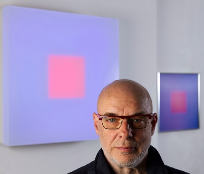 Brian Eno Portrait