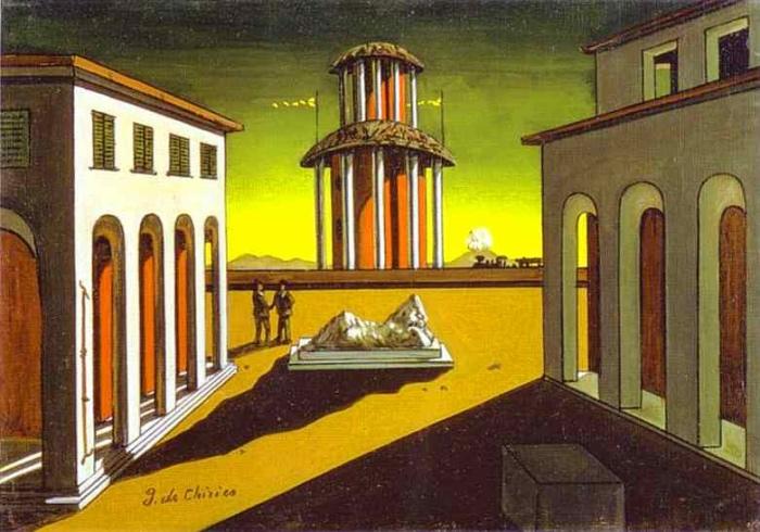 Giorgio de Chirico | piazza Italia