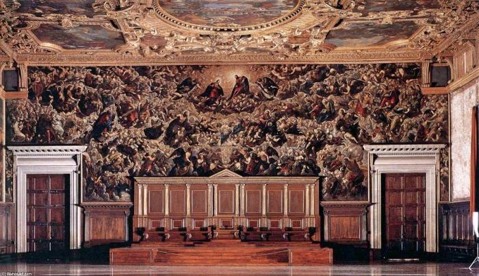 Paradiso Tintoretto | Palazzo Ducale Venezia