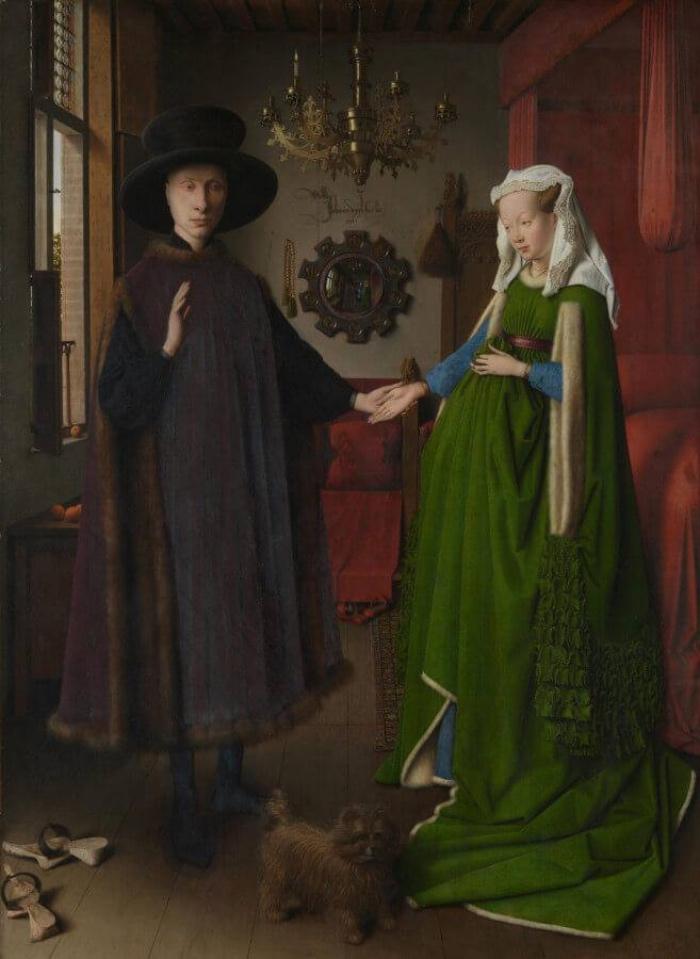 Jan Van Eyck | Arnolfini Portrait