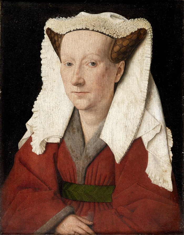 Jan Van Eyck | Ritratto di Margareta van Eyck