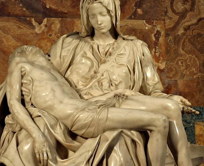 Michelangelo Pietà | capolavori Vaticano