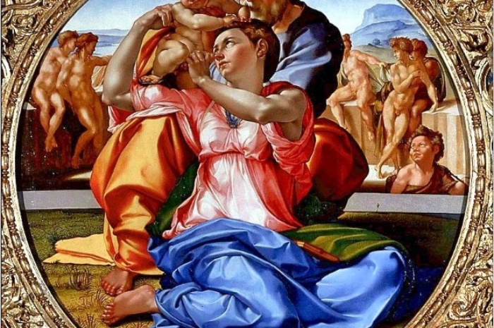 Tondo Doni | Michelangelo Buonarroti