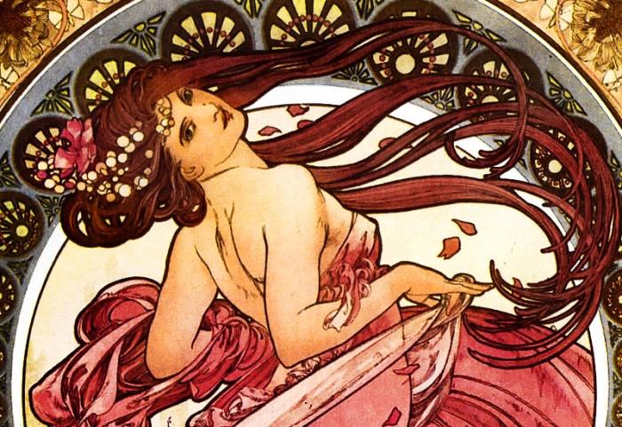 Alphonse Mucha | La Danza