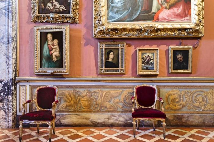 autoritratto Raffaello | musei Firenze