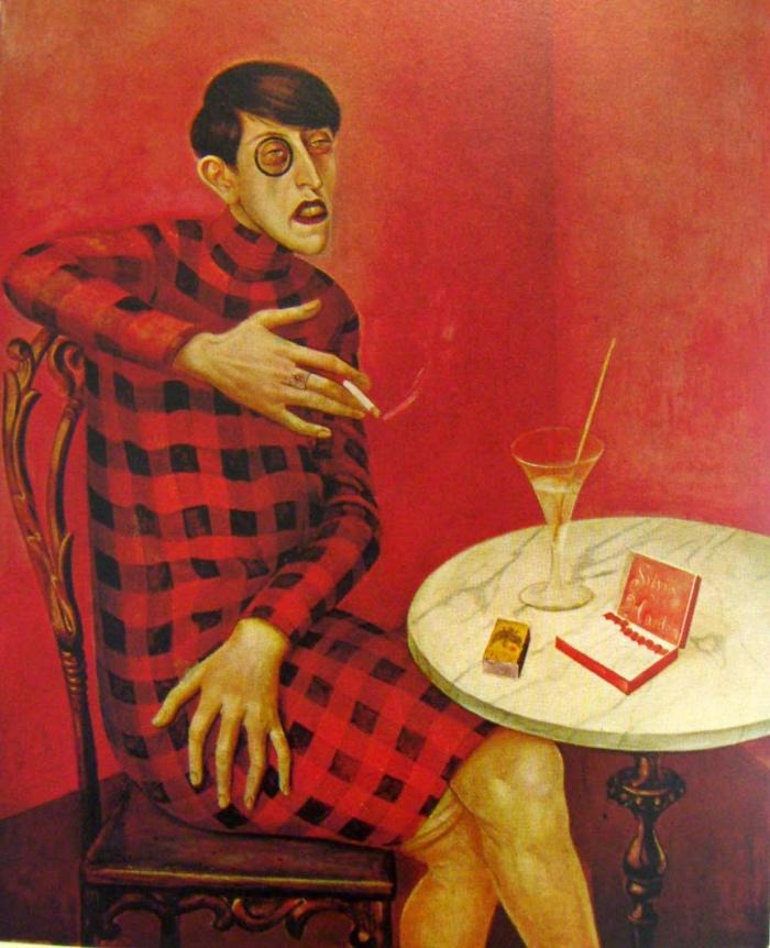 Otto Dix | Ritratto della giornalista Sylvia von Harden