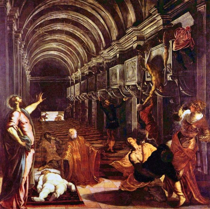 Tintoretto | Ritrovamento corpo di San Marco