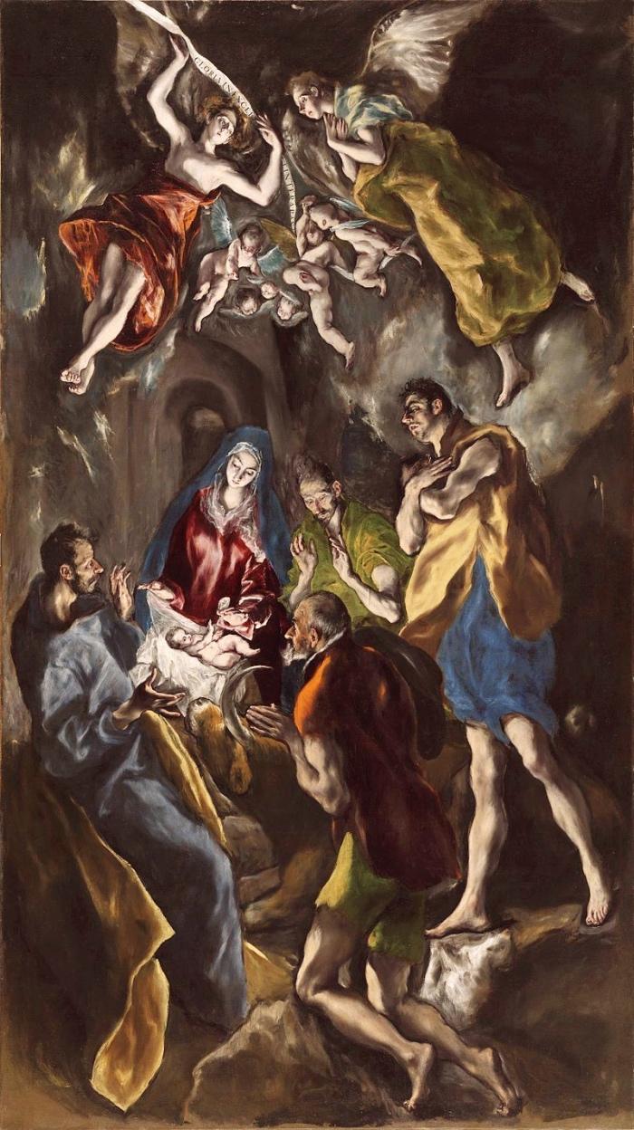 Adorazione Pastori | Greco