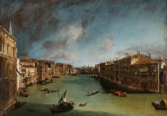 Canaletto | Il Canal Grande da Palazzo Balbi a Rialto