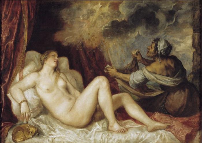 Danae | Tiziano