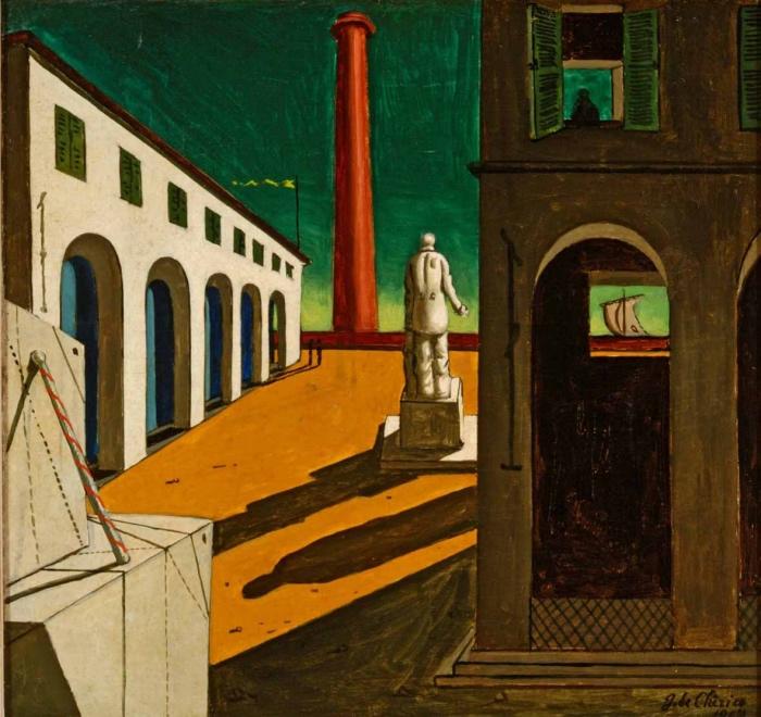Giorgio de Chirico | Enigma della partenza