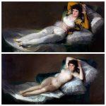 Maja vestida | Maja desnuda