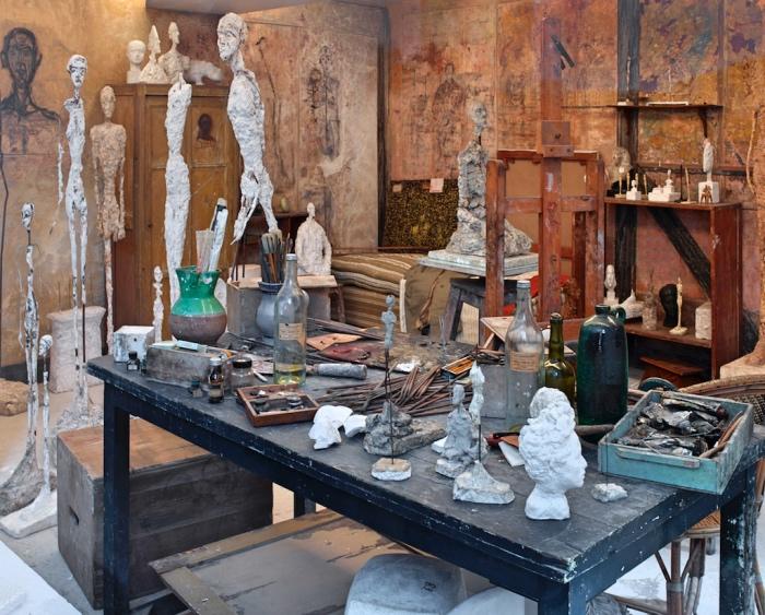 Alberto Giacometti | atelier