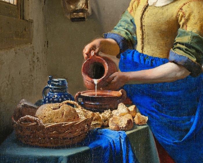 Lattaia Vermeer | dettaglio