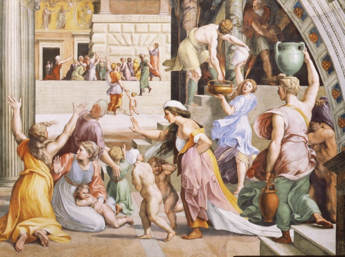 Raphael Rooms | The Fire in the Borgo