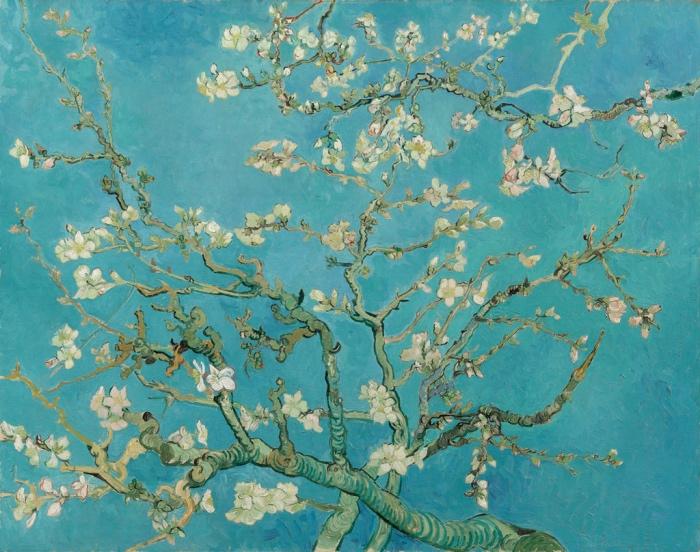 Van Gogh | Ramo di mandorlo in fiore