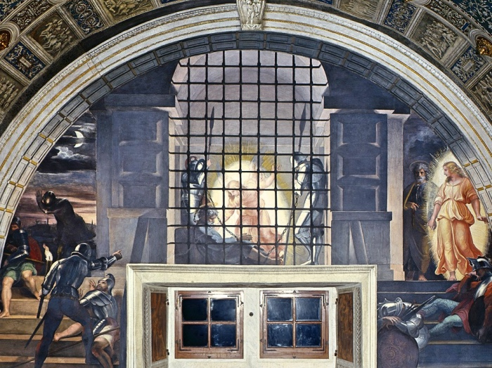 Raphael Rooms | Deliverance of Saint Peter