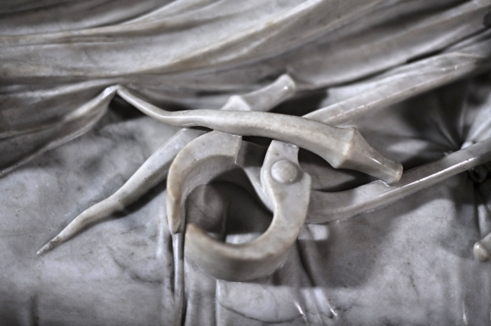 Cristo Velato Napoli | dettaglio