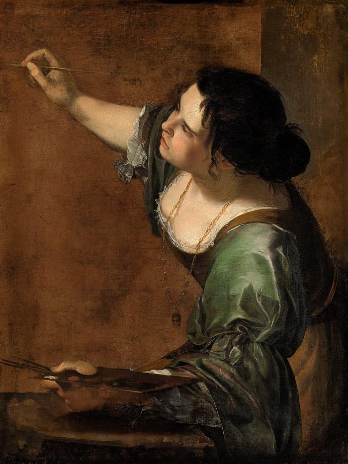 Artemisia Gentileschi | autoritratto