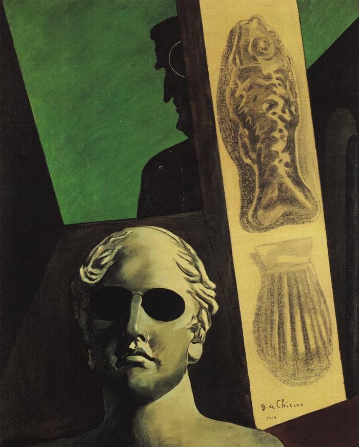 De Chirico | Ritratto premonitore di Guillaume Apollinaire