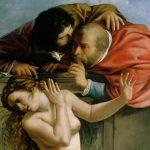 Susanna e i vecchioni | Artemisia Gentileschi dettaglio