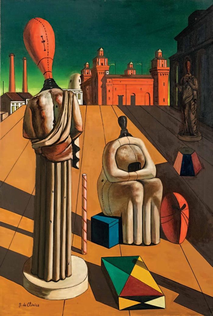 Giorgio de Chirico | The Disquieting Muses
