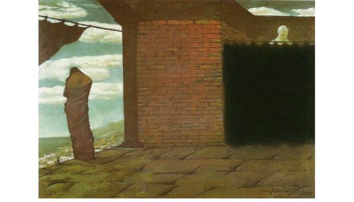 Enigna dell'oracolo | Giorgio De Chirico