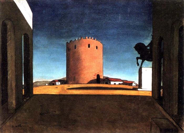 Giorgio De Chirico | la torre rossa