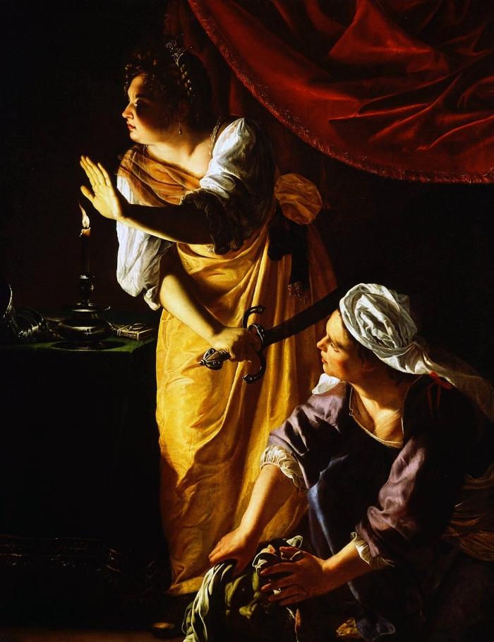 Artemisia Gentileschi | Giuditta e la sua ancella