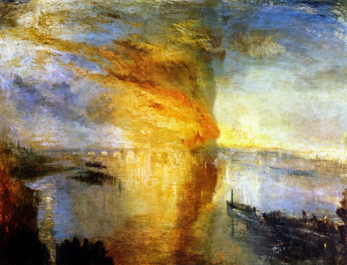 Turner | The Burning of the Houses of Lords and Commons