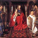 van Eyck   Madonna del canonico van der Paele