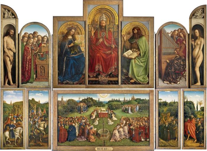 van Eyck | Polittico dell'Agnello Mistico