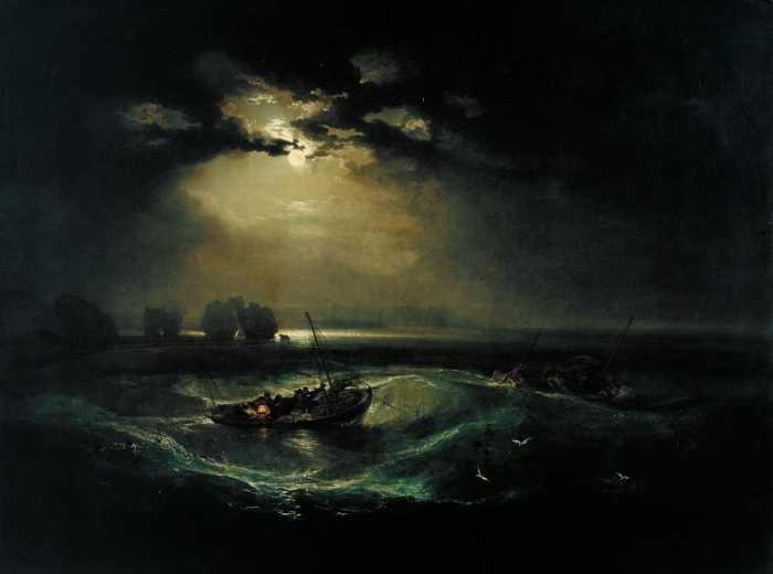 William Turner | Pescatori in mare