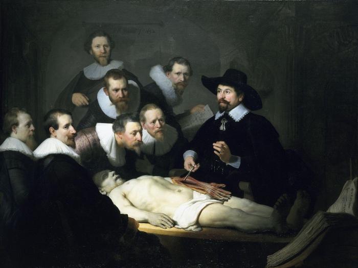Rembrandt | anatomy lesson