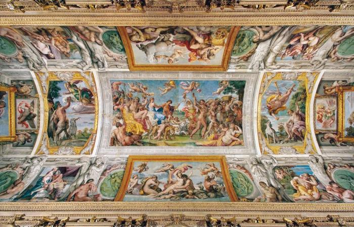 Annibale Carracci | frescoes in Palazzo Farnese