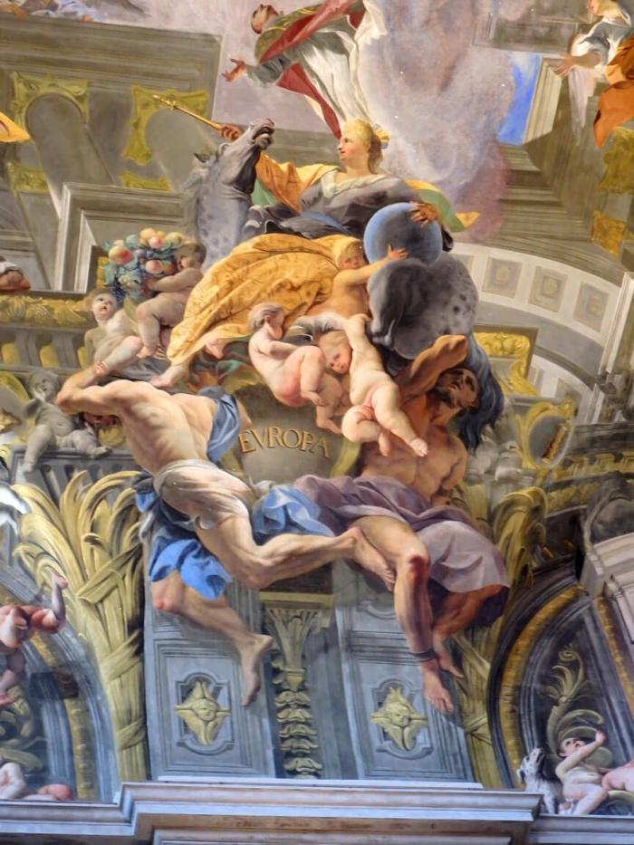 Chiesa Sant'Ignazio di Andrea Pozzo