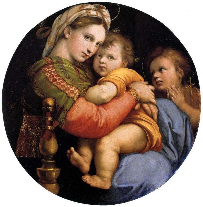 Raffaello | Madonna della Seggiola