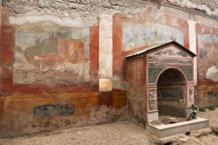 rosso pompeiano | Pompei