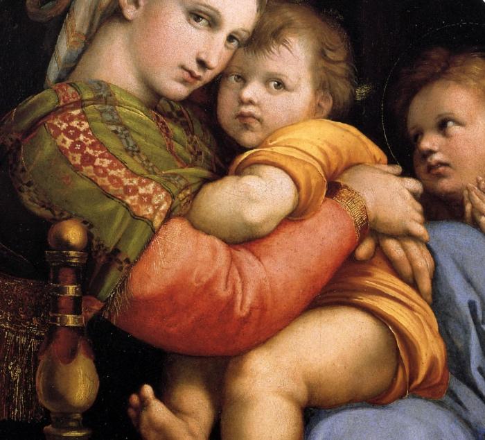 Madonna della Seggiola | Raffaello