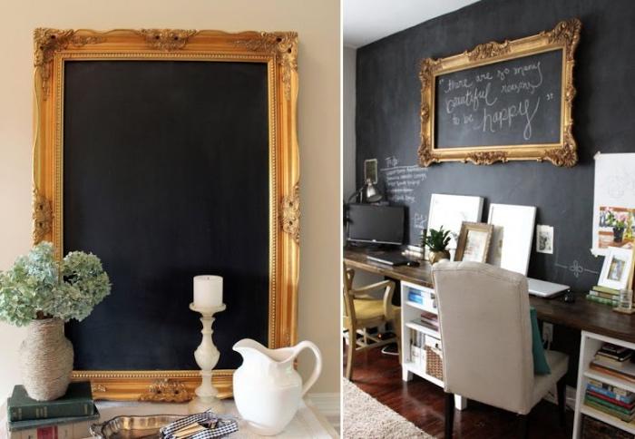 Baroque frame | blackboard