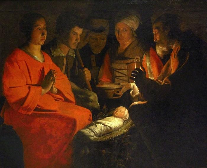 George de La Tour | Adorazione dei pastori
