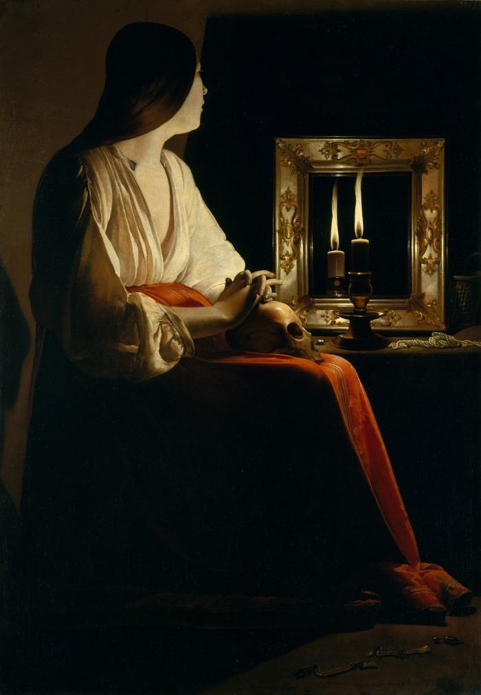 Georges de La Tour | Maddalena Penitente | Metropolitan Museum of Art