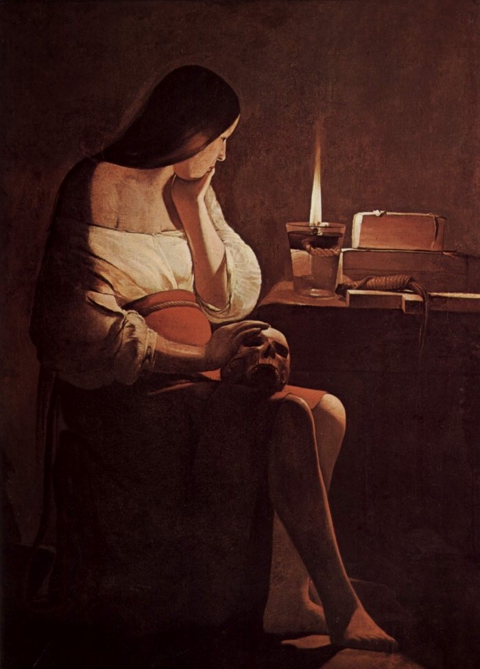 Magdalene with the Smoking Flame | Georges de la Tour