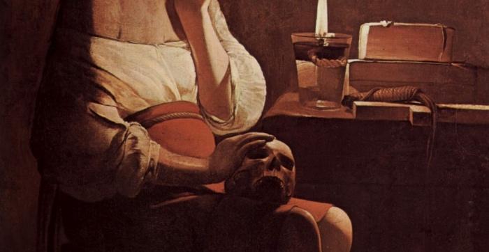 Georges de la Tour | Maddalena penitente