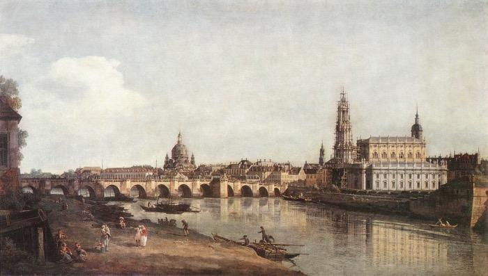 Bernardo Bellotto | View of Dresden