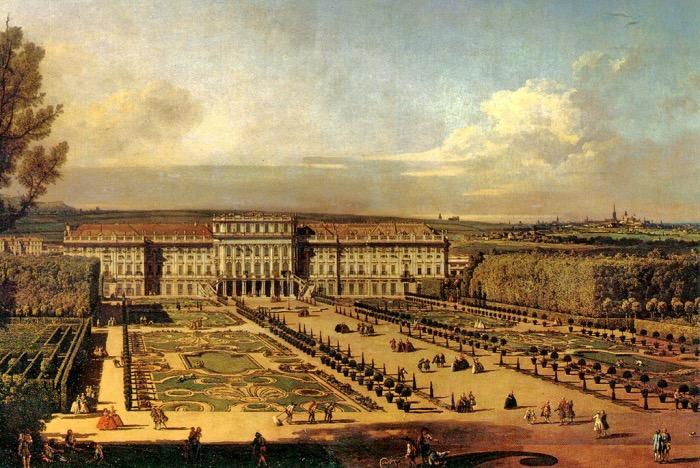 Bernardo Bellotto | Vienna Schonbrunn