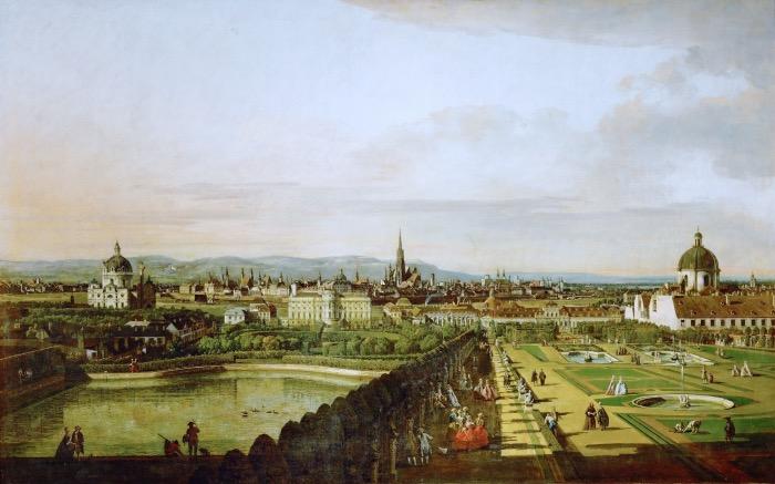 Bernardo Bellotto | Veduta di Vienna