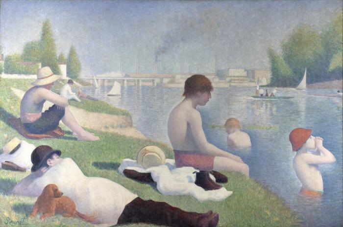 Georges Seurat | Bagno ad Asnières